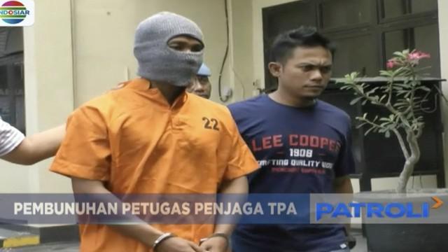 Terbakar api cemburu, seorang pria di Nganjuk, Jawa Timur, bunuh penjaga tempat pembuangan akhir sampah.