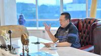 Ketua MPR RI Bambang Soesatyo menuturkan MPR RI melalui Badan Pengkajian merekomendasikan naskah visi misi calon Gubernur/Bupati Walikota yang terpilih dalam Pilkada Serentak 9 Desember 2020