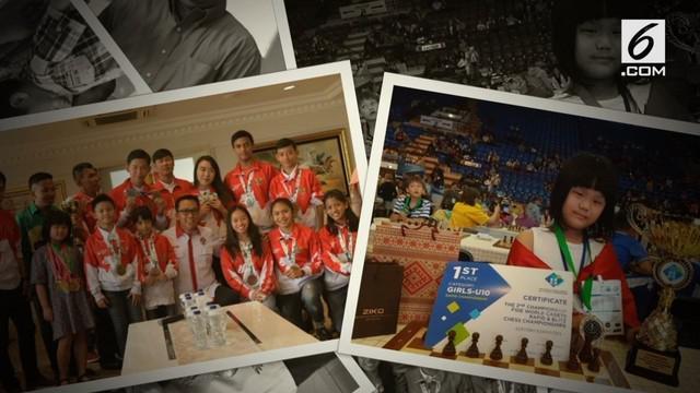 Setelah mengharumkan nama Indonesia dalam kejuaraan catur dunia di Belarusia, hari ini Menteri Pemuda dan Olahraga Imam Nahrawi memberikan bonus untuk apresiasi kepada Samantha edithso sebesar 40 juta.