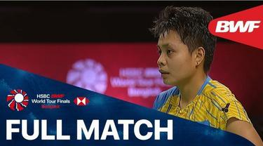 Berita video full match saat ganda putri Indonesia, Greysia Polii / Apriyani Rahayu, meraih kemenangan atas wakil Malaysia di Grup A BWF World Tour Finals 2020, Kamis (28/1/2021) sore hari WIB.