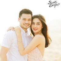 Pasca melangsungkan pernikahan pada 20 Desember 2015 silam, pasangan suami istri Nabila Syakieb dan Reshwara Argya Radinal melakukan bulan madu. Pasangan serasi ini memilih Bali sebagai destinasi bulan madu mereka. (via instagram/@sweet.escape)