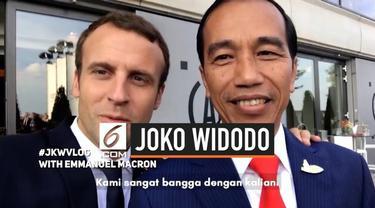 Kanal YouTube milik Presiden Joko Widodo tembus 1,5 juta subscribers lewat sebuah video, ia mengucapkan terima kasih kepada penonton.