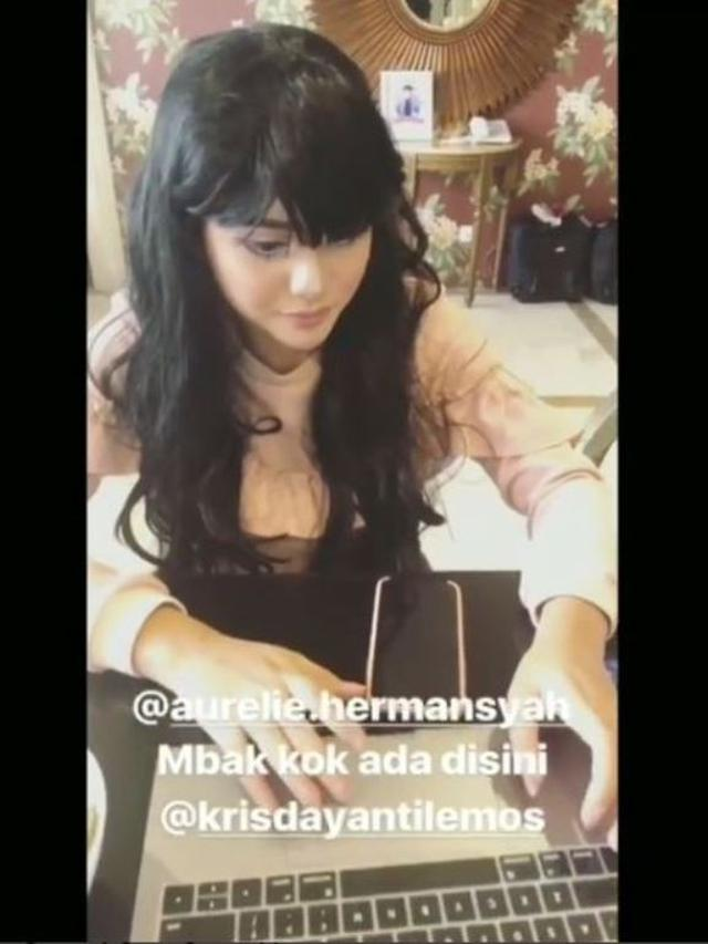 Aurel Hermansyah (Foto: Instagram/@genk_ijo)