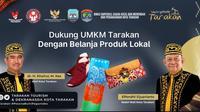 Pemerintah Kota Tarakan dukung UMKM di marketplace.