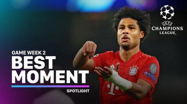 Berita video momen-momen terbaik yang tercipta pada matchday 2 Liga Champions 2019-2020.