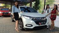 Honda HR-V terbaru mengalami penyegaran sehingga nampak elegan. (Arief/Liputan6.com)