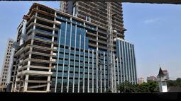 Kepala Dinas Tata Ruang DKI, Gamal Sinurat mengatakan Pemprov DKI sudah mempunyai gambaran wajah Kota Jakarta pada tahun 2030 mendatang, (10/10/14). (Liputan6.com/Johan Tallo)