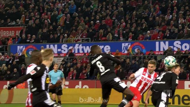 Berita video highlights Bundesiliga antara Koln Vs Borussia Muenchengladbach 2-1. This video is presented by Ballball.