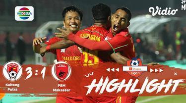 Babak Penyisihan #ShopeeLiga1 yang mempertemukan #Kalteng Putra vs #PSM Makassar pada hari Minggu sore (10/11/2019) berakhir denga...