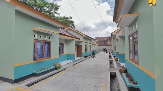 Proyek rumah kerakyatan program Kementerian PUPR. Dok: Kementerian PUPR
