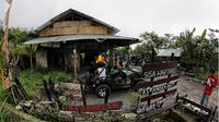 Sisa-sisa dari akibat dahsyatnya letusan Gunung Merapi 4 tahun lalu diabadikan dalam sebuah museum ini.