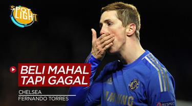 Berita video spotlight kali ini membahas tentang empat pembelian mahal Chelsea yang gagal bersinar, salah satunya ialah Fernando Torres.
