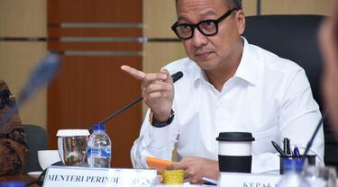Menteri Perindustrian (Menperin) Agus Gumiwang Kartasasmita di Jakarta, Jumat (5/6/2020). (Dok Kemenperin)