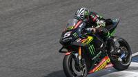 Pebalap Yamaha Tech 3, Johann Zarco, mengaku bisa nyetel dengan motor Yamaha berkat Jorge Lorenzo. (MotoGP)
