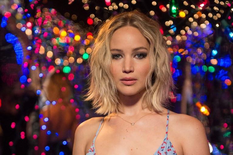 Jennifer Lawrence menjadi salah satu cewek berpenghasilan tinggi. (Foto: AFP)
