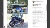 Berbagai hal bisa dijadikan meme menarik, tidak terkecuali yang berkaitan dengan otomotif. (@memer15indonesia)
