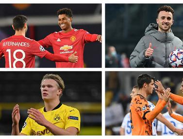 FOTO: Top Skor Sementara Liga Champions, 4 Pemain di Posisi Teratas, Masing-masing 4 Gol