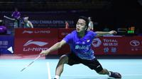 Tunggal putra Indonesia, Anthony Sinisuka Ginting. (Dok. Badminton.org)