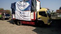 Tim ITB kirimkan bantuan unit instalasi air ke Lombok. (Dok. Humas ITB/Huyogo Simbolon)