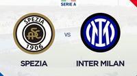 Serie A - Spezia Vs Inter Milan (Bola.com/Adreanus Titus)