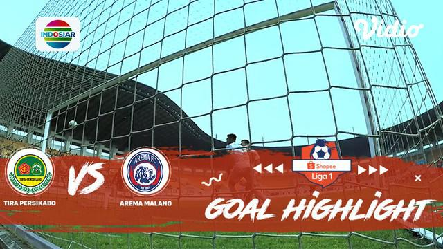 Berita video highlights gol laga Liga 1 2019 antara Tira Persikabo melawan Arema FC yang berakhir dengan skor 1-1, Kamis (24/10/2019).