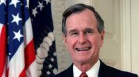 Presiden ke-41 Amerika Serikat, George HW Bush. (Public Domain)