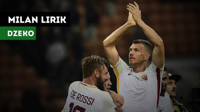 AC Milan dikabarkan Tuttosport melirik striker AS Roma, Edin Dzeko