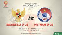 Piala AFC U-23: Indonesia U-23 vs Vietnam U-23. (Bola.com/Dody Iryawan)