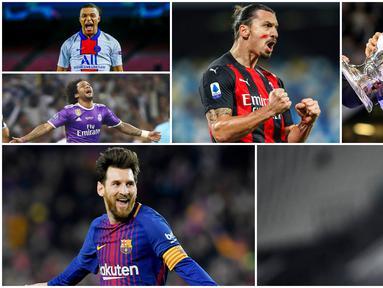 Sepak Bola merupakan cabang olahraga paling populer di dunia. Itu terlihat dari banyaknya jumlah pengikut para pesepak bola di media sosial. Berikut 10 pesepak bola dengan jumlah followers terbanyak di Instagram.