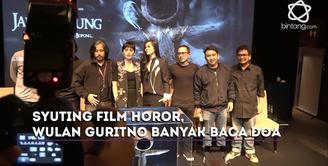 Seperti ini keseruan Wulan Guritno, Augie Fantinus dan Hannah Al Rashid  saat jalani syuting film Jailangkung.