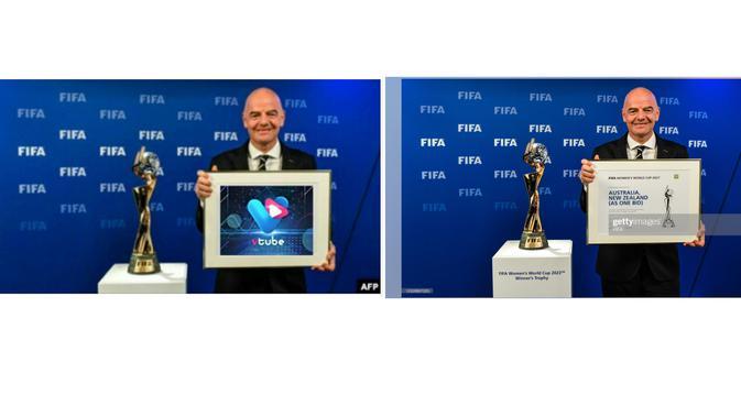 Klaim netizen (kiri) dan foto asli yang ditemukan di Getty Image