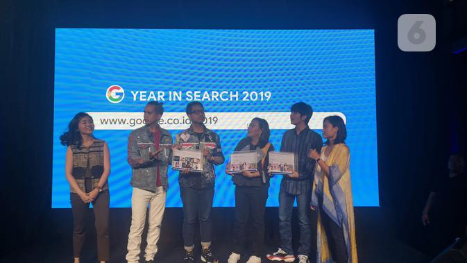Event Google Year in Search 2019. (Liputan6.com/ Agustinus Mario Damar)