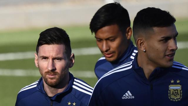 FOTO: Setelah Lama Menepi, Lionel Messi Kembali ke Timnas Argentina