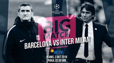 Berita Video Prediksi Barcelona Vs Inter Milan, Misi Sulit Valverde dan Peluang Conte Menang di Camp Nou
