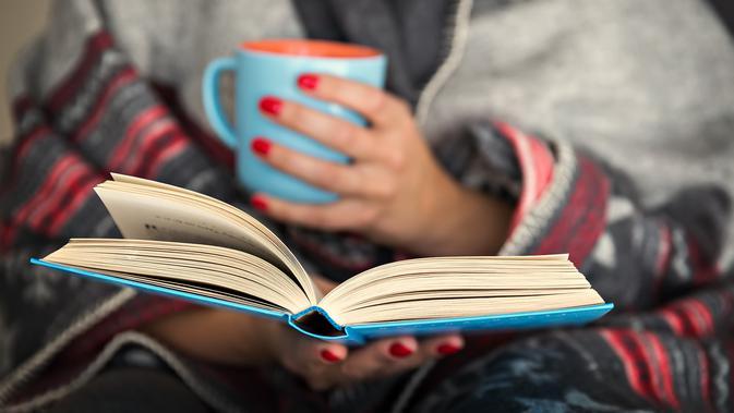 Banyak Baca Buku, Otak pun Merasa Senang