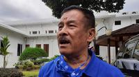 Komisaris PT Persib Banung Bermartabat, Umuh Muchtar. (Bola.com/Erwin Snaz)