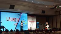 Menteri Keuangan Sri Mulyani Indrawati meresmikan Modul Penerimaan Negara Generasi Ketiga (MPN-G3) di Aula Gedung Dhanapala, Kementerian Keuangan, Jakarta. (Merdeka.com/Dwi Aditya Putra)