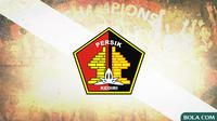 Persik Kediri Logo (Bola.com/Adreanus Titus)