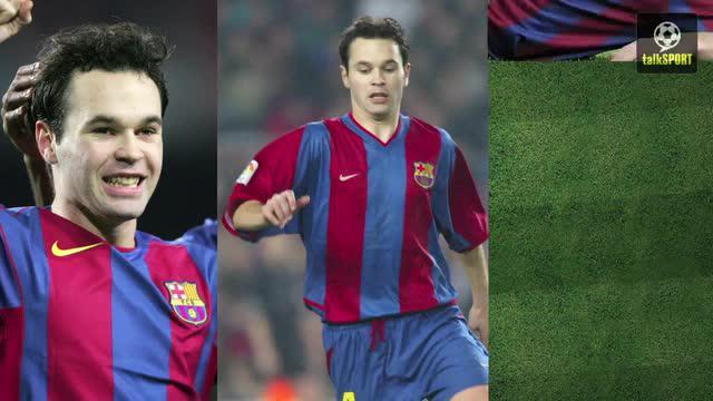 18 rupa pesepak bola dunia saat masih muda memiliki rambut dan belum mengalami kebotakan seperti diunduh melalui akun youtube Talksport.