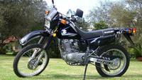Suzuki DR200. (mhtravelcorfu)