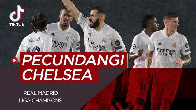 Berita video tiktok Bola.com tentang lima asalan Real Madrid Bakal Pecundangi Chelsea di Semifinal Liga Champions.