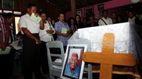 Mbah Gotho manusia tertua asal Sragen wafat pada Minggu sore, 30 April 2017. (Liputan6.com/Fajar Abrori)