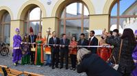 Upacara pembukaan Prodi Pariwisata Indonesia di Palacky University (foto : FB Indonesia Prague)