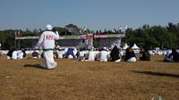 Milad Front Pembela Islam (FPI) di Bumi Perkemahan Cibubur. (Merdeka.com)