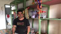 Dalahaji Tuasikal, warga korban Gempa Bumi Maluku penerima Banpres Produktif.