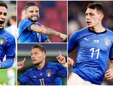 Foto Piala Eropa: Barisan Predator Timnas Italia di Euro 2020, Hati- Hati Si Wajah Baru
