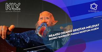 Cerita Indro Warkop tentang orang sekitar melihat dirinya sebagai alien.