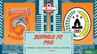 Shopee Liga 1 - Pusamania Borneo FC Vs PSS Sleman (Bola.com/Adreanus Titus)