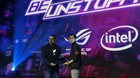 Asus resmi memperkenalkan ROG Mothership ke Indonesia (Liputan6.com/Agustinus M.Damar)