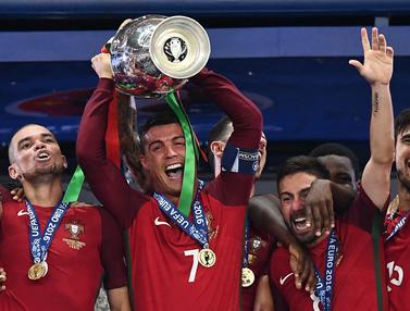 Foto Piala Eropa: 4 Pemain yang Juara Euro dan Liga Champions di Tahun yang Sama
